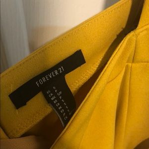 Forever 21 Other - Yellow forever21 jumpsuit